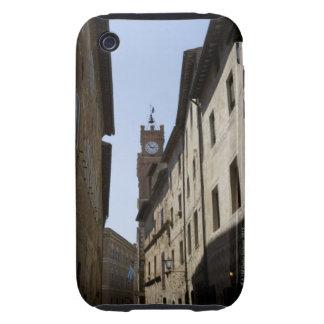 Itraly. Toscana. Pienza Tough iPhone 3 Cárcasas