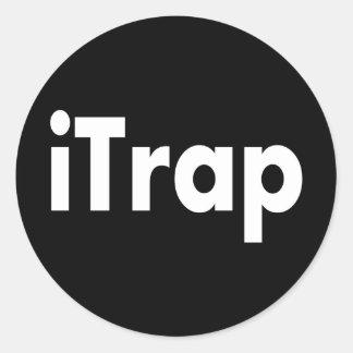 iTrap Etiqueta Redonda