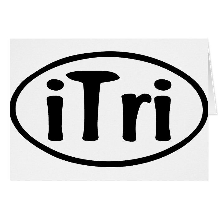 iTri Oval Card