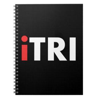 iTri Triathlon Spiral Note Book