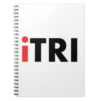 iTri Triathlon Spiral Notebooks