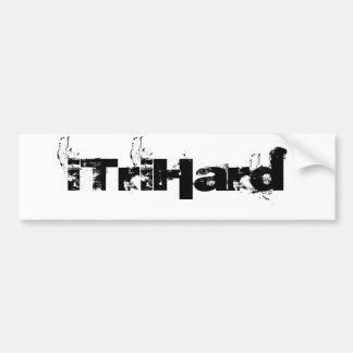 iTriHard Bumper Sticker