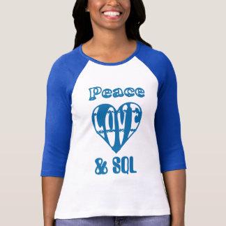 itrockstar - peace love sql T-Shirt