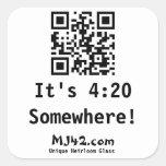 It's 4:20 Somewhere! Stickers