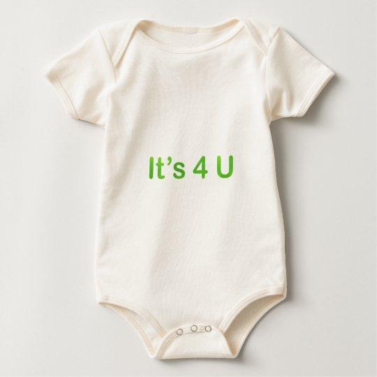 its 4 u baby bodysuit