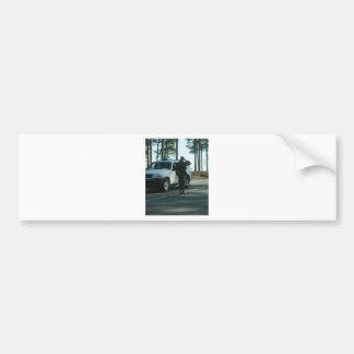 It's 5 o'clock at Pope AFB Bumper Sticker