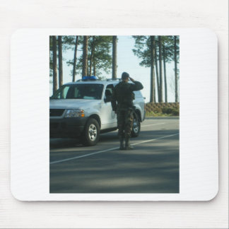 It's 5 o'clock at Pope AFB Mousepads