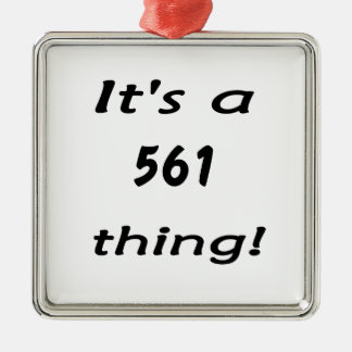 It's a 561 thing! ornament