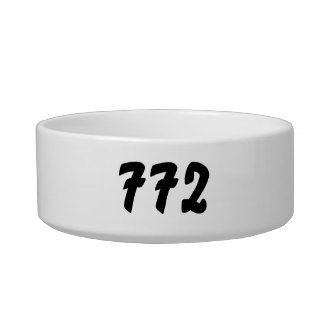 It's a 772 thing! bowl