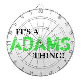 IT'S A ADAMS THING! DART BOARD