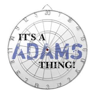 IT'S A ADAMS THING! DARTBOARD
