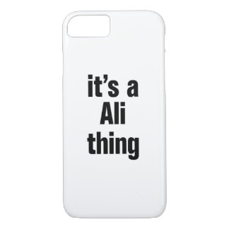 its a ali thing iPhone 7 case