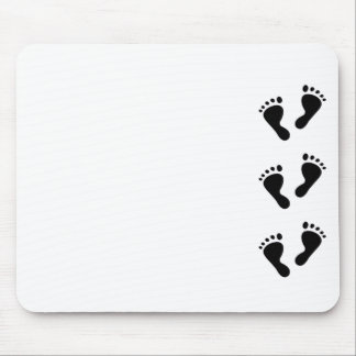 It's a Baby - Baby Feet Mouse Pad