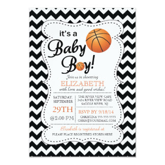 It's a Baby Boy Basketball Baby Shower Card