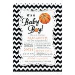 It's a Baby Boy Basketball Baby Shower Personalized Announcement
