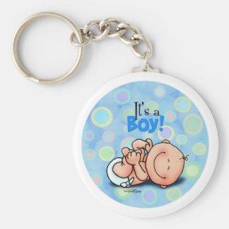 It's a Baby Boy! Keychain