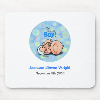 It's a Baby Boy! Mouse Pad