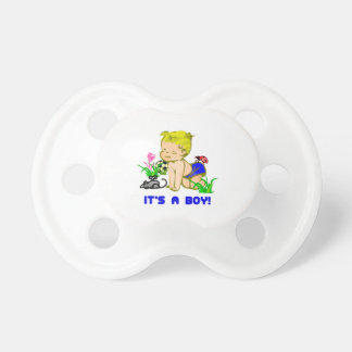 Its A Baby Boy Pacifier