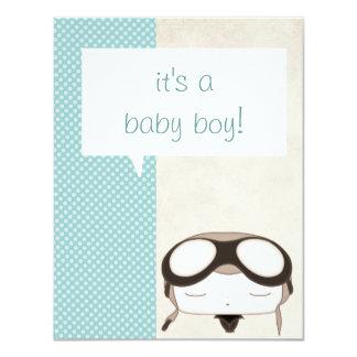 it's a baby boy pilot announcement