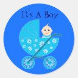 It's A Baby Boy Stickers