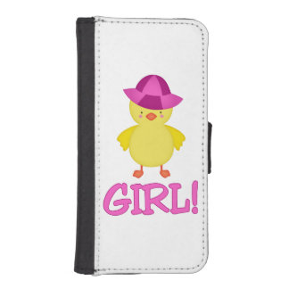 It's A Baby Girl Duckie Pink Hat Phone Wallet Cases