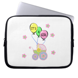 Its A Baby Girl Computer Sleeve