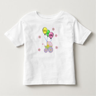 Its A Baby Girl Toddler T-shirt