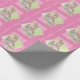 It's a Baby Girl! Wrapping Paper