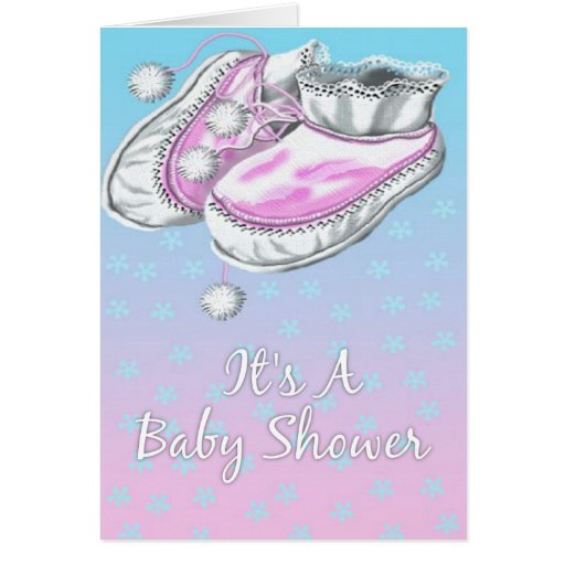 it 39 s a baby shower greeting card zazzle