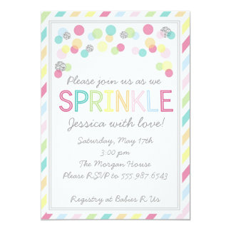 It's a Baby Sprinkle! Baby Shower Invitation