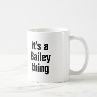 its a bailey thing coffee mug