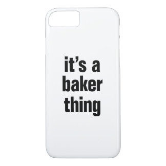 its a baker thing iPhone 8/7 case
