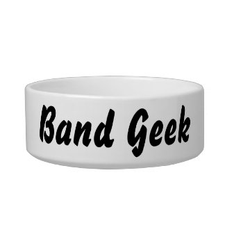 It's a band geek thing! bowl