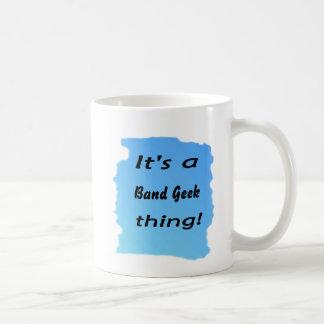 It's a band geek thing classic white coffee mug