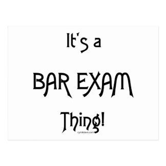It's a Bar Exam Thing! Postcard