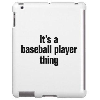 its a baseball player thing