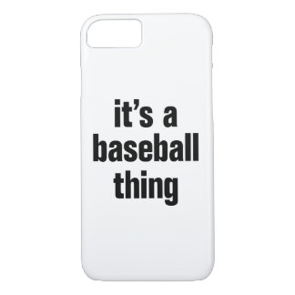 its a baseball thing iPhone 8/7 case