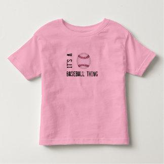 Its A BASEBALL Thing Kids T-Shirt