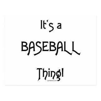 It's a Baseball Thing! Postcard