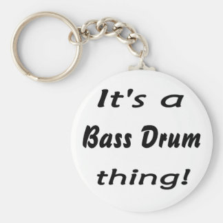 It's a bass drum thing! keychains
