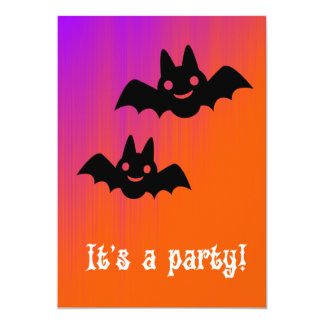 It's A Batty Party Halloween Invitation