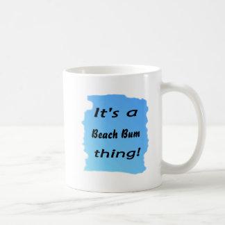 It's a beach bum thing! mugs