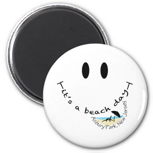 It's a Beach Day - Asbury Park, New Jersey Magnets