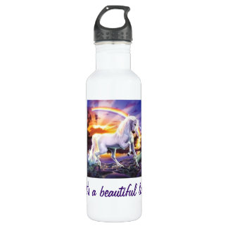 Its a beautiful life Unicorn Stainless Steel Water Bottle