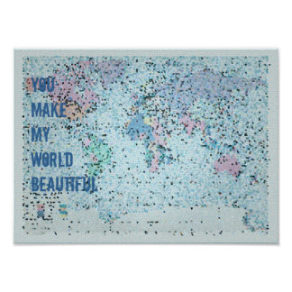Its a Beautiful World - Map Posters