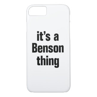its a benson thing iPhone 8/7 case