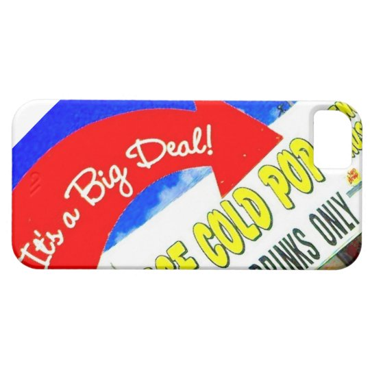 It's A Big Deal Graphic Text Sign Photo Phone Case