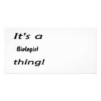 It's a biologist thing! custom photo card