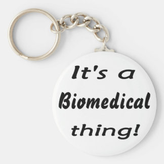 It's a biomedical thing! keychain