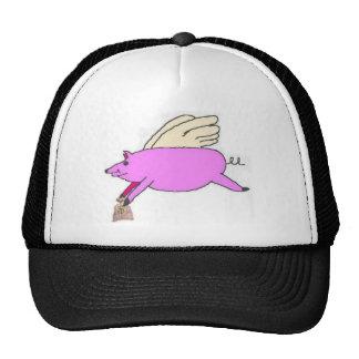 It's A Bird, It's A Plane, It's A Pig Trucker Cap Trucker Hat